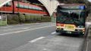 箱根湯本から宮ノ下まで乗車・箱根登山バス