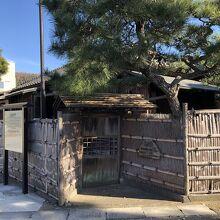島崎藤村が住んでいた家