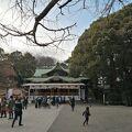 敷地面積東京で第3位の大きなお宮です