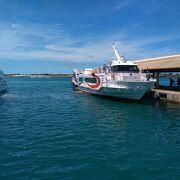 石垣から西表島上原港まで