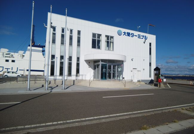 津軽海峡 フェリー大間フェリーターミナル