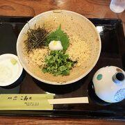 鎌倉のお蕎麦はこ寿々で