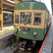車両が魅力的な江ノ電