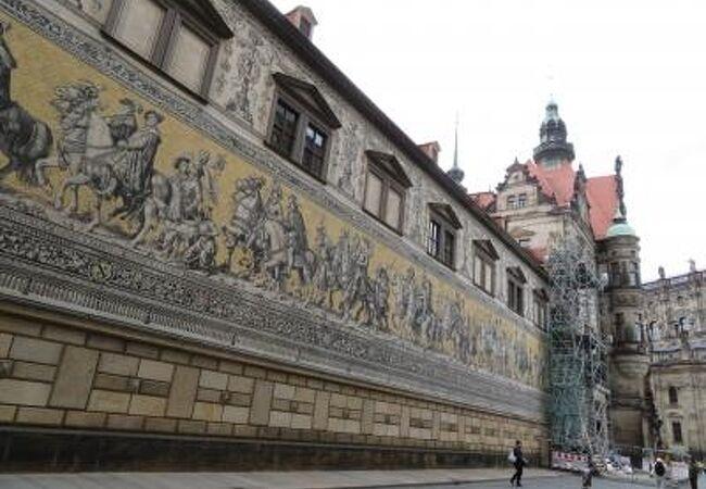 2019年5月Dresden Furstenzug 君主の行列♪