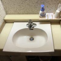 部屋に洗面所とトイレがありました