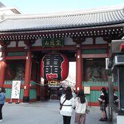 浅草寺への入口
