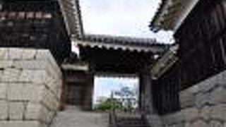 松山城 二ノ門