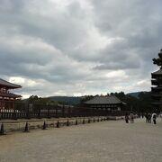 創建1300年以上の国宝の伽藍