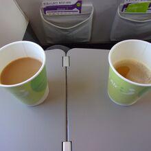 コーヒーとアゴユズスープ