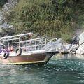 往復30分の吉野川遊覧船