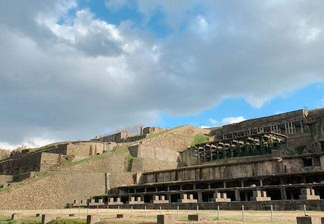 北沢浮遊選鉱場跡