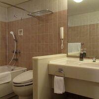 バスルームも広々