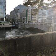 土佐堀川にかかる著名な橋