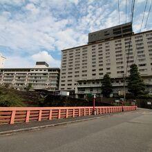 別府の代表的な大ホテルです