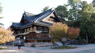 国指定重要文化財の神門