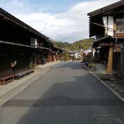 中山道の歴史ある木曽路の宿場が堪能できます。