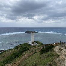 展望台からさらに岩場を登るとさらに高いところから見られます