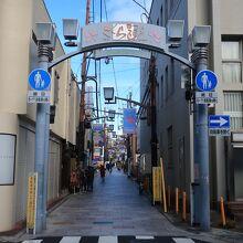 奈良小西さくら通り商店街