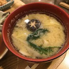 ふぐ汁(ふぐの味噌汁)