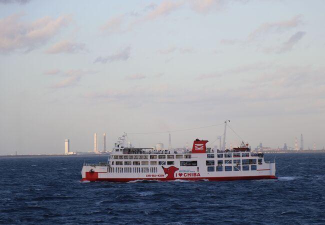 状況 フェリー 運航 東京 湾