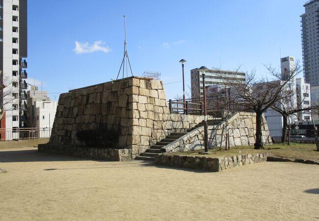 花隈城があった公園