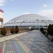 名称変更しましたが、「ナゴヤドーム前矢田駅」や「イオンモールナゴヤドーム前」は変わらない様です