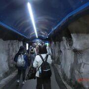 ユングフラウ鉄道の終点で展望台からユングフラウを見た