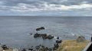 津軽海峡の先に下北半島と津軽半島を見渡す絶景が広がっていました!