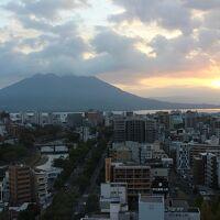 桜島が、綺麗に見えました