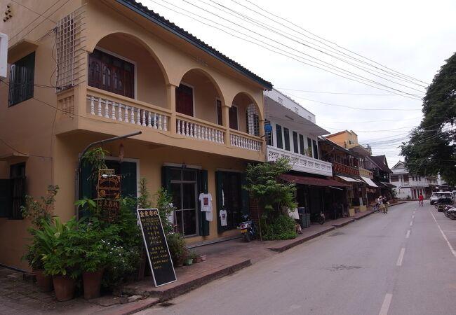 ルアン パバンの町