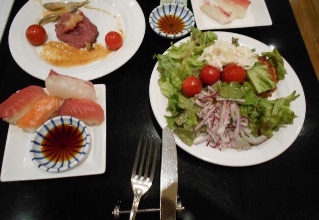 ホテルグランヴィア京都2階のカフェレストラン