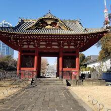 旧台徳院霊廟惣門 木造仁王像 二躯