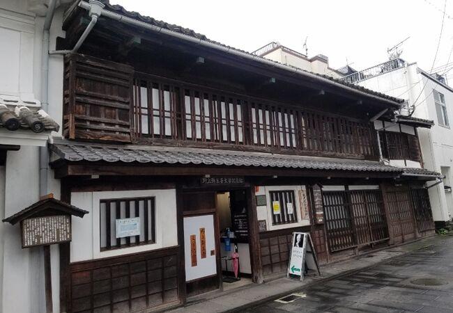 建物自体も登録有形文化財