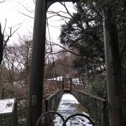 吊橋ですが揺れません。