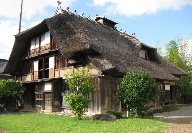 田麦俣の多層民家(旧渋谷家住宅)