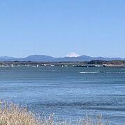 良い天気!富士山も見えました!