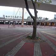 竹芝桟橋にある広場です。