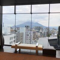7階のフロントフロアからの眺望