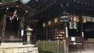 日牟禮八幡宮