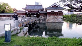 広島城 御門橋