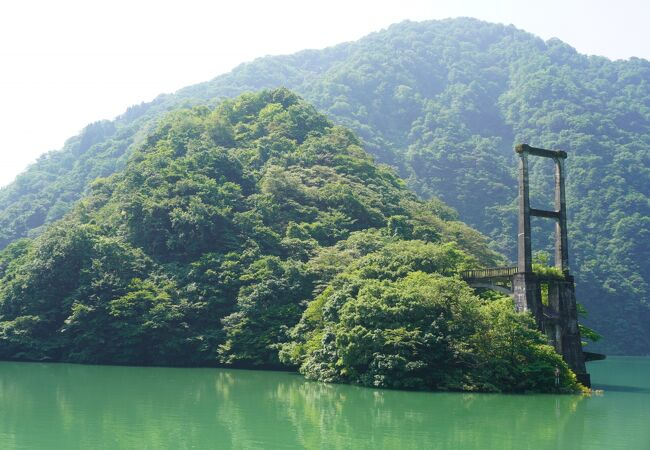 小牧ダム 庄川峡遊覧船