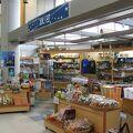 種子島空港内で唯一の総合土産店