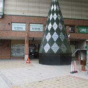 駅直結の商業ビル