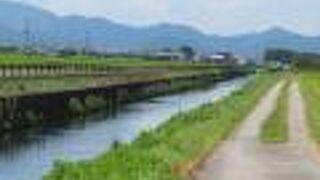 安土八幡の水郷