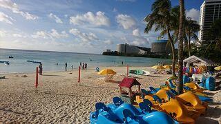 子供から大人まで楽しめるビーチ