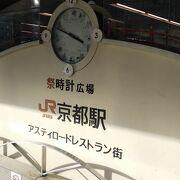 京都駅八条口の時計