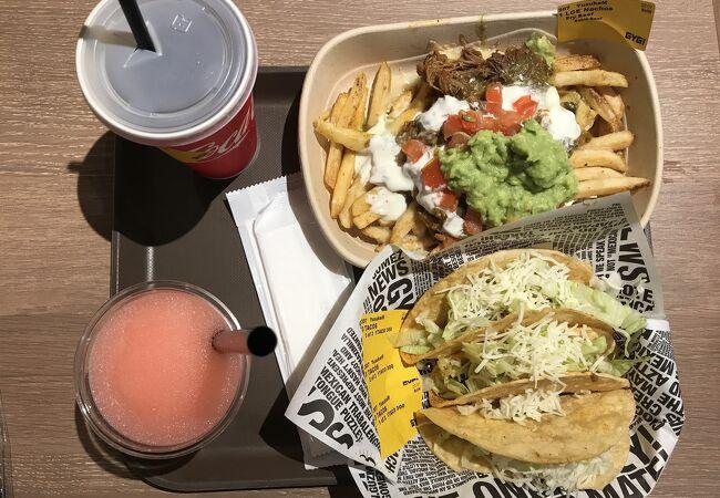 メキシコ料理おいしかったです。