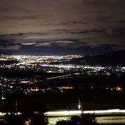 長野県千曲市にある夜景のスポット