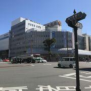 宮崎市街のど真ん中、頑張れ山形屋百貨店