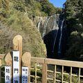 高さもあり美しい滝